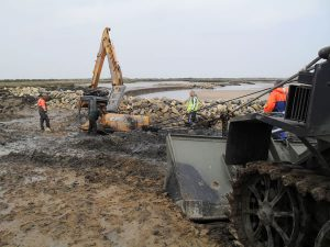 Marine construction plant & equipment hire