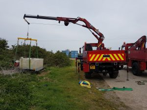 Plant and equipment for various marine construction jobs