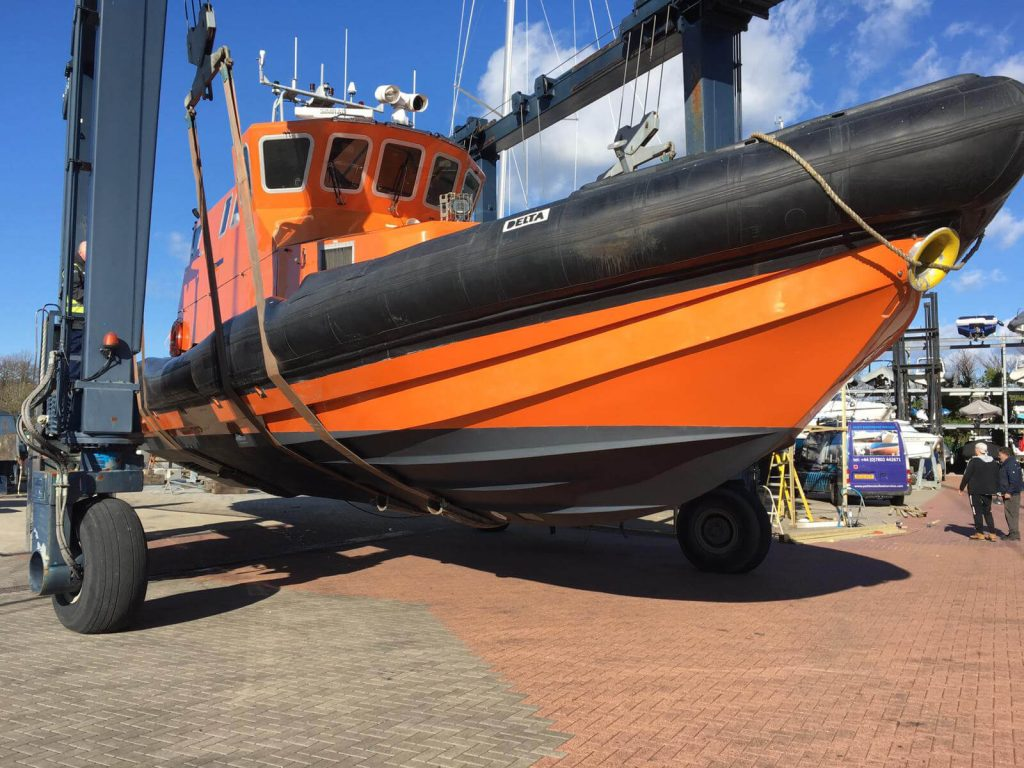 Protector | Vessels - Safety Boat Services