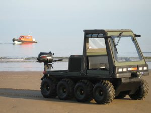 How beneficial would it be to use an all terrain vehicle?