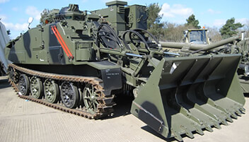 Our Fleets - Combat Engineer Tractor