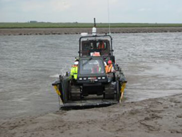 Work boats to safely transfer crew